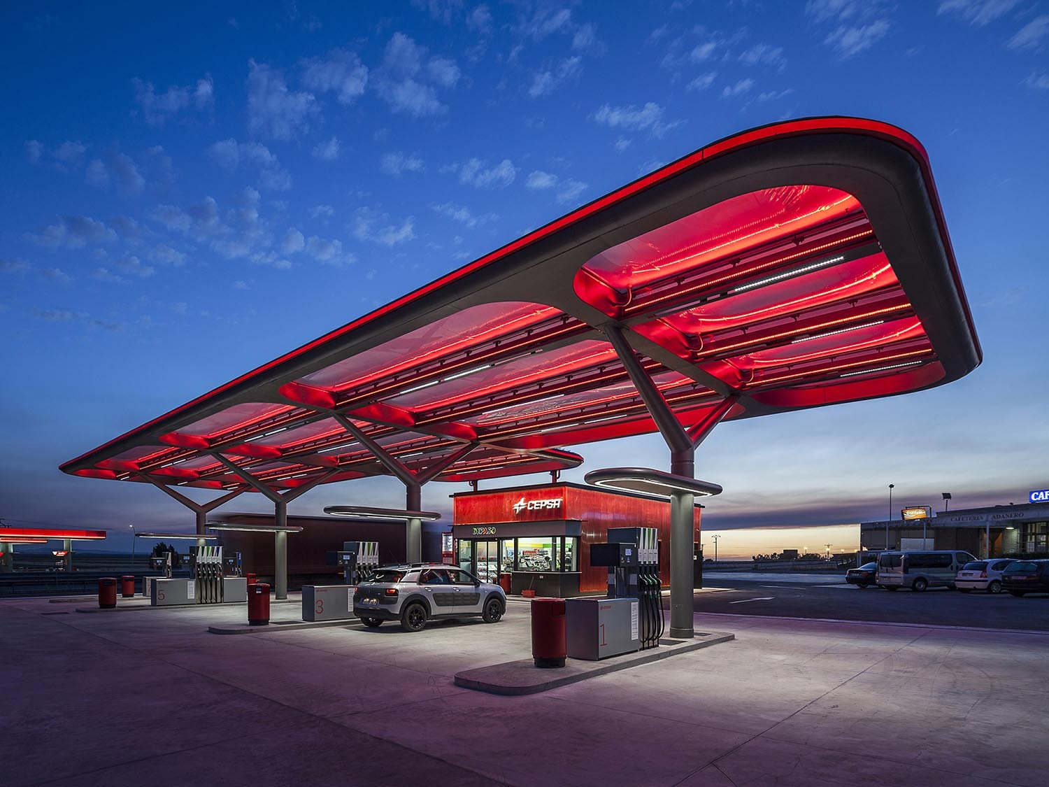Fuel stations in Spain