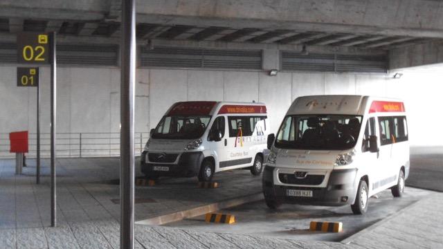 Zona de recogida en el Aeropuerto de Alicante