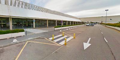 Drivalia shuttle bus stop at Mallorca airport