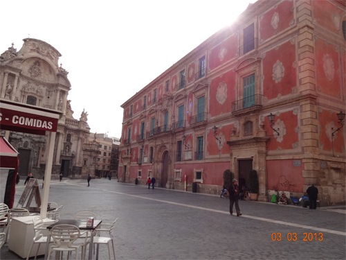 Episcopal Palace Murcia City