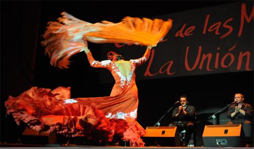 Festival del Cante de las Minas in La Union, Murcia