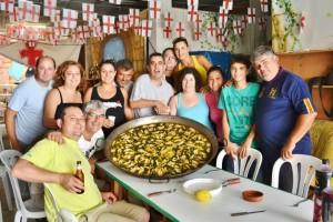 Javea Moors and Christians paella