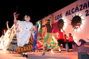 Los Alcazares Semana de la Huerta y el Mar Traditional Folk Dancing