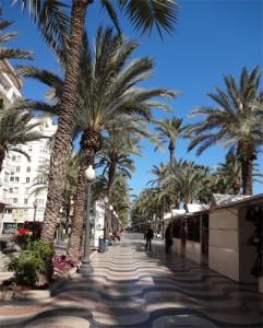 Paseo Explanada de Espana Alicante Old Town