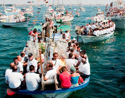 Las Fiestas de la Virgen del Carmen San Pedro del Pinatar